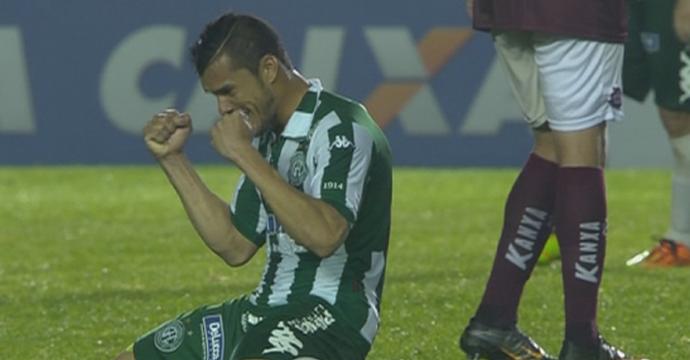 Caxias Guarani Série D Campeonato Brasileiro Centenário (Foto: Reprodução/SporTV)