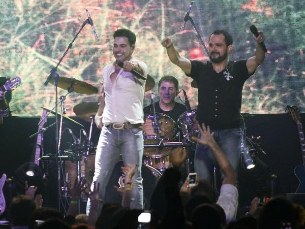 Show de Zezé Di Camargo e Luciano em São Paulo (Foto: Celso Tavares/ EGO)