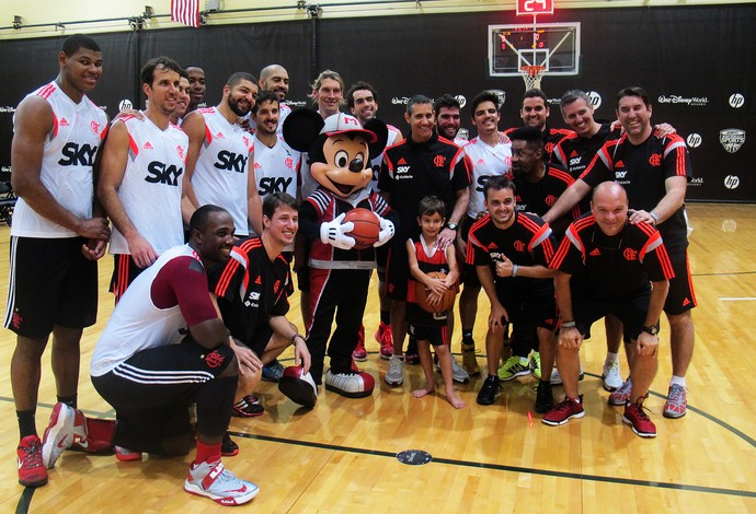Flamengo na terra do Mickey Mouse