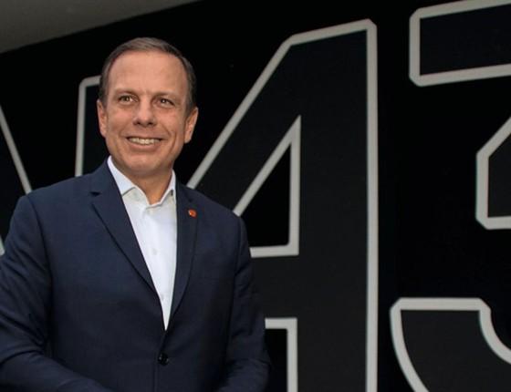O prefeito de São Paulo,João Doria.Aos 59 anos ele é apontado como um político com mandato que pode nutrir ambições maiores (Foto:   Fabricio Bomjardim / Brazil Photo Press)