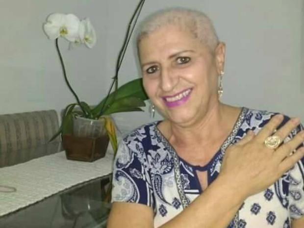 Marta Meireles descobriu um câncer no pulmão há oito meses (Foto: Arquivo pessoal)