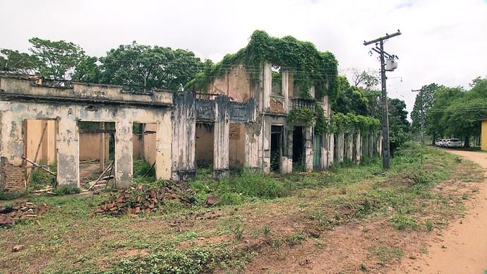 No distrito Rio do Braço, o 'Pé na Pista' mostra construções que datam do século 20 (Foto: TV Bahia)