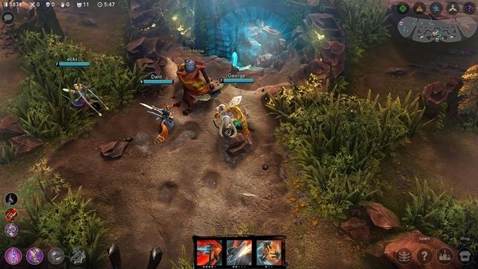 Vainglory é um jogo de multiplayer online de ex-funcionários da Riot Games (Foto: Divulgação)