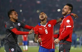 "Vidal agradece apoio dos chilenos  e promete festejar: ""Merecemos"""