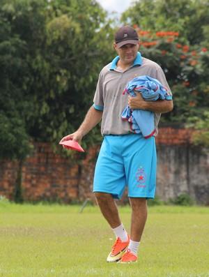 Edmilson Correia, o Tangará, técnico Rio Branco (Foto: João Paulo Maia)