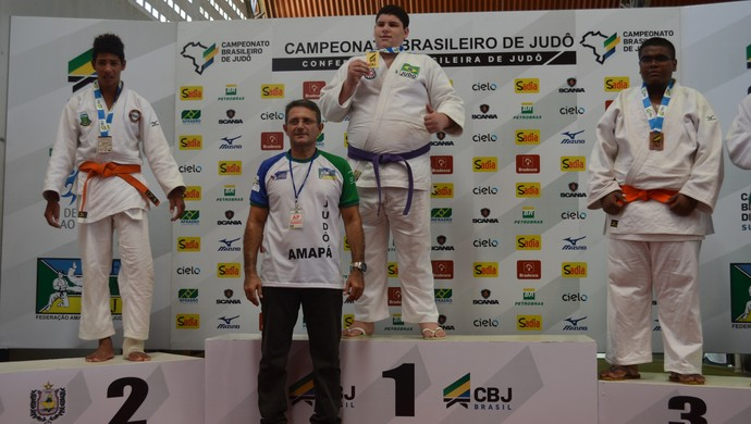Judô Sub 15, RJ fica em 1º no quadro geral e AP conquista três bronzes (Foto: Jonhwene Silva/GE-AP)