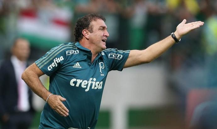 Palmeiras x Vasco Cuca pede (Foto: Cesar Greco/Ag Palmeiras/Divulgação)