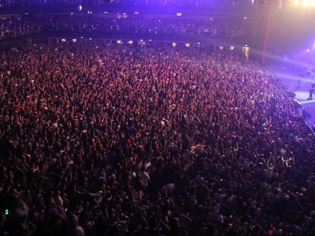 Show de Wesley Safadão na Zona Oeste do Rio (Foto: Thyago Andrade/ Brazil News)