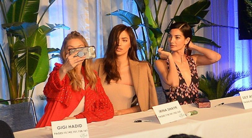 Gigi Hadid, Irina Shayk e Lily Aldridge (Foto: Getty Images)