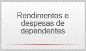 Selo - Rendimentos e despesas de dependentes (Foto: G1)