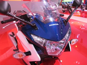 Honda CBR 250R (Foto: Rafael Miotto/G1)