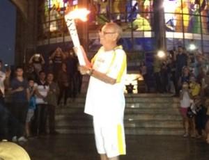 Agripino Lima, tocha olímpica em Prudente (Foto: Brasil 2016 / Divulgação)
