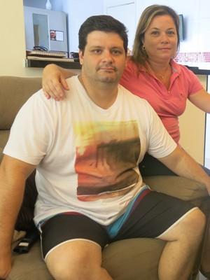 Pais de Guilherme querem alertar outros jovens e familias  (Foto: Mariane Rossi/G1)
