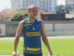 Marcelo Mattos Treino Botafogo (Foto: Thales Soares)