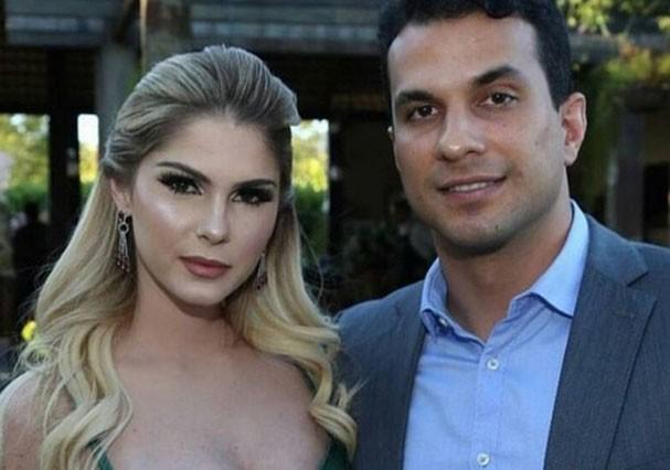 Barbara Evans e o ex, Irajá Abreu (Foto: Reprodução/Instagram)