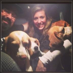 Luisa Mell posta foto sobre Beagles (Foto: Instagram/Reprodução)