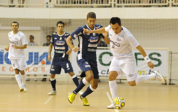 Falcão Orlândia x Concórdia Superliga de Futsal (Foto: Luciano Bergamaschi/CBFS)
