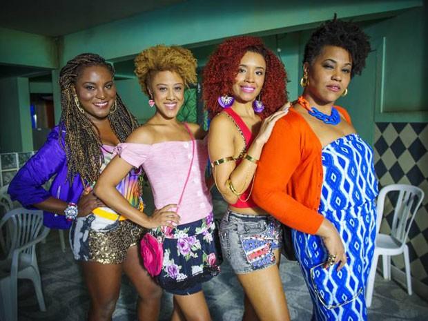 As amigas Lia, Soraia, Zulma e Tilde  (Foto: TV Globo/Alex Carvalho)