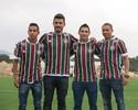 De presente: no novo CT, Fluminense apresenta o seu pacotão de reforços