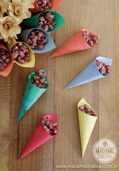Aperitivos no cone (Foto: Pinterest)