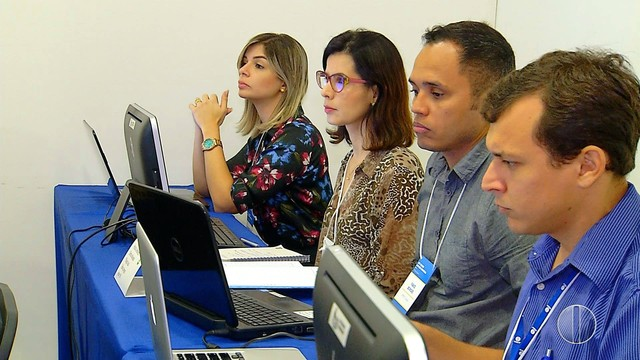 RN - Afiliadas da Rede Globo no Nordeste se reúnem para debater estratégias de mercado em Natal (Foto: Reprodução/Inter TV Cabugi)