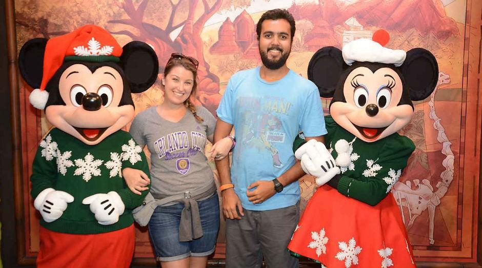 Rebeca Lopes e Felipe Costa proprietários da Rumo a Orlando (Foto: Divulgação)