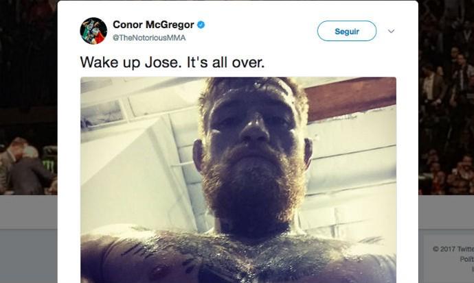Conor McGregor, Twitter (Foto: Reprodução/Twitter)