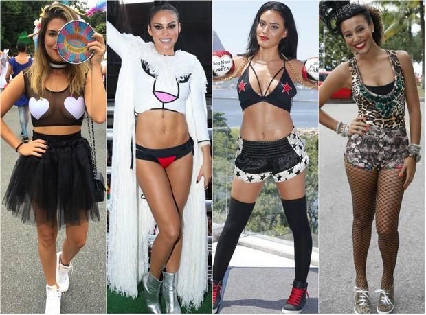 Fantasias das famosas (Foto: Isac Luz / EGO | Brazil News | AgNews)