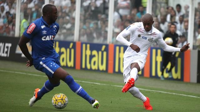 Resultado de imagem para Santos x Cruzeiro 2016