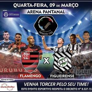 Flamengo, Figueirense (Foto: Divulgação)