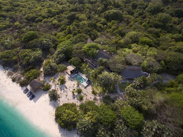 Benguerra Lodge, um retiro paradisíaco em Moçambique (Foto: Divulgação)