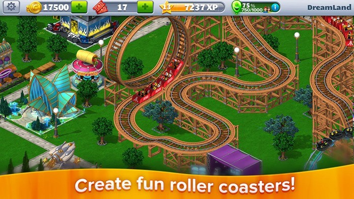 RollerCoaster volta com muito mais opções para você montar sua montanha-russa (Foto: Divulgação)