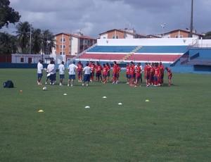 Fortaleza, treino (Foto: Fortaleza/Divulgação)