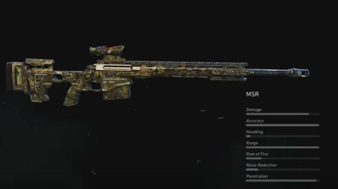 Ghost Recon Wildlands: O rifle MSR tem ótimos atributos (Foto: Reprodução / Thomas Schulze)