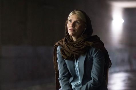 Claire Danes em cena de 'Homeland' (Foto: Reprodução/Showtime)
