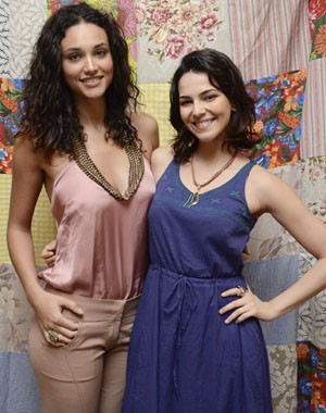 Débora Nascimento e  (Foto: Raphael Dias / TV Globo)