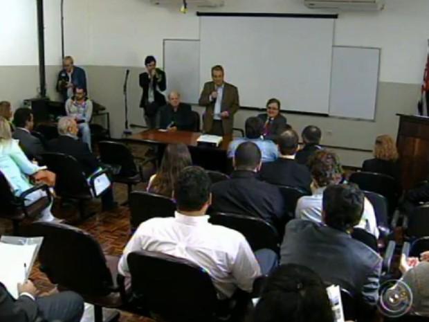 Ações que envolvam a comunidade foi tema da discussão (Foto: Reprodução/TV TEM)