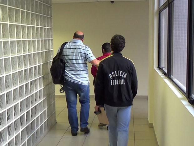 Presos estão custodiados na sede da Polícia Federal no RN (Foto: Divulgação/Polícia Federal)