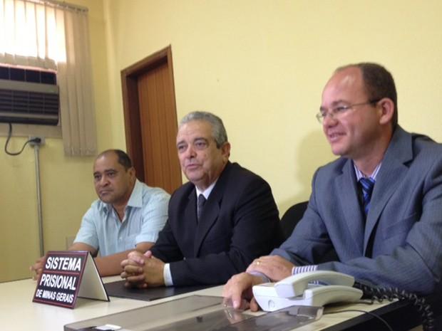 Coletiva foi marcada para falar da mudança de diretoria (Foto: Fernanda Resende/G1)