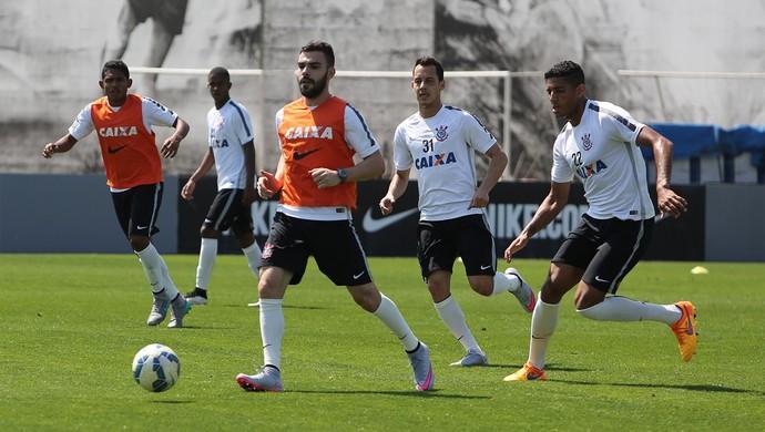 Treino Corinthians Lincom (Foto: Ricardo Taves / Ag. Corinthians)