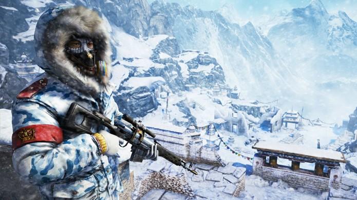 Montanhas com neve obviamente também fazem parte dos cenários (Foto: The Dark Side of Gaming)