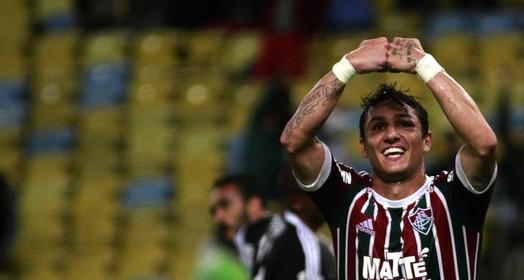 """""""conto os dias"""" (Nelson Perez/Fluminense)"""