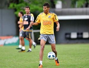 Éder Lima no treino do Santos (Foto: Ivan Storti / Site Oficial do Santos)