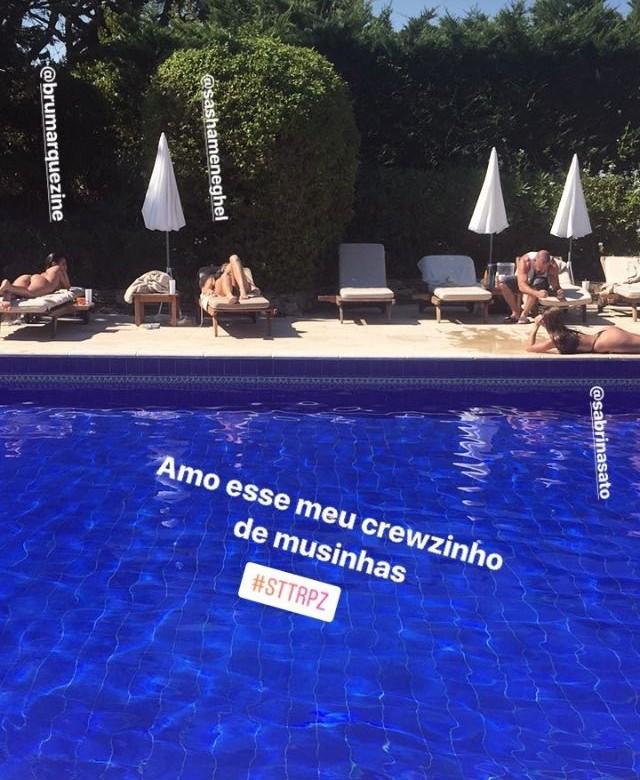 Bruna Marquezine, Sasha e Sabrina Sato (Foto: Reprodução/ Instagram)