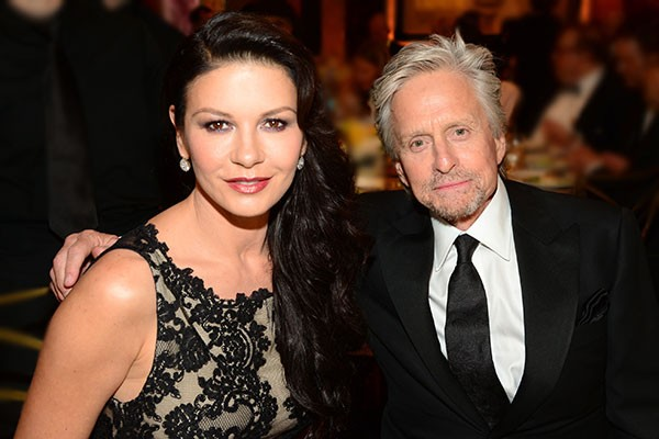 Michael Douglas e Catherine Zeta-Jones (Foto: Getty Images)