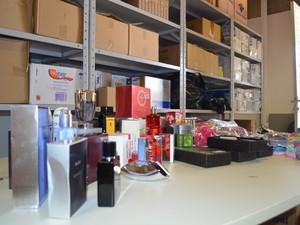 perfumes (Foto: Marcello Carvalho/G1)