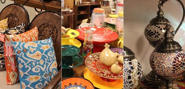 Objetos à venda na Balisun Decoração (Foto: Divulgação)