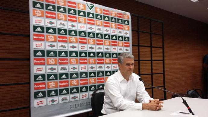 Presidente do Fluminense Siemsen (Foto: Hector Werlang)