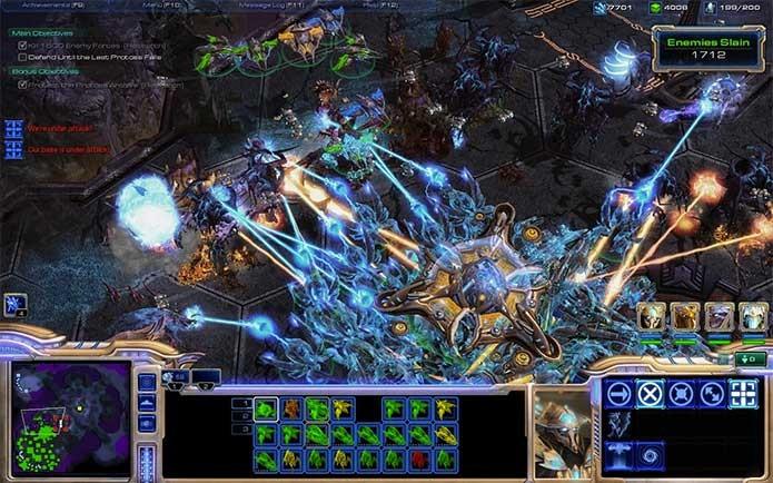 StarCraft 2 possui torneios oficiais na Ásia, mas ganhou o mundo (Foto: Divulgação/Blizzard)