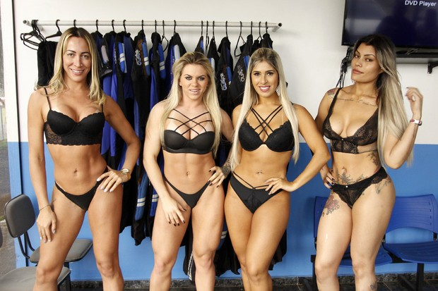 Candidatas a Miss Bumbum  (Foto: Celso Tavares/EGO)